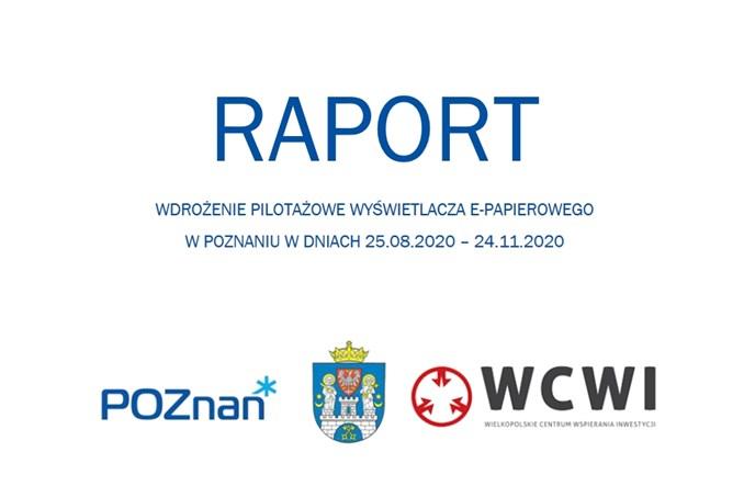 Trapeze Poland: Raport z pilotażowego wdrożenia wyświetlacza SmartInfo E-papier w Poznaniu
