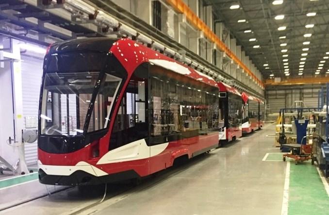 Powstają nowe tramwaje dla Sankt Petersburga