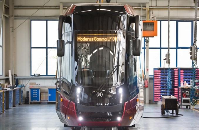 Modertrans: Pierwszy w 100% niskopodłogowy tramwaj jednoczłonowy