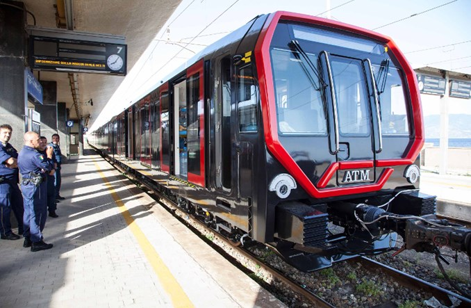 Mediolan: Nowy pociąg metra na testach