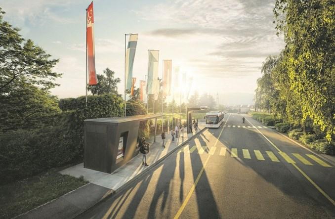 Elektrobusy ładowane w 15 sekund pojadą w Genewie
