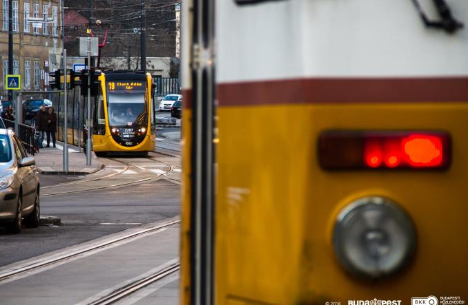 Budapeszt połączył tramwaje rozdzielone przez metro