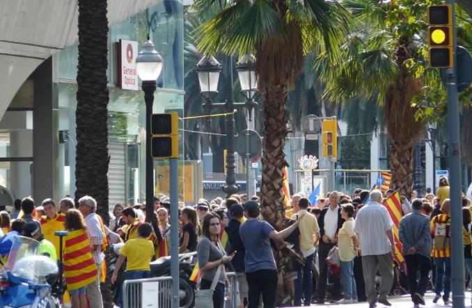 Barcelona w weekendy oddaje ważną arterię mieszkańcom