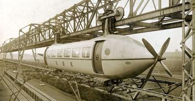Samolotopociąg, czyli krótka historia Bennie Railplane