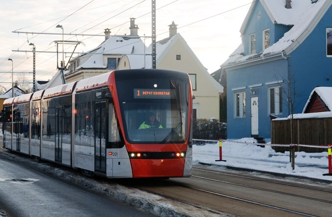 Tramwaj w Bergen ma cztery lata