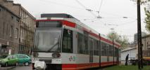Łódź: Używany tramwaj NF6D z Bochum już na torach