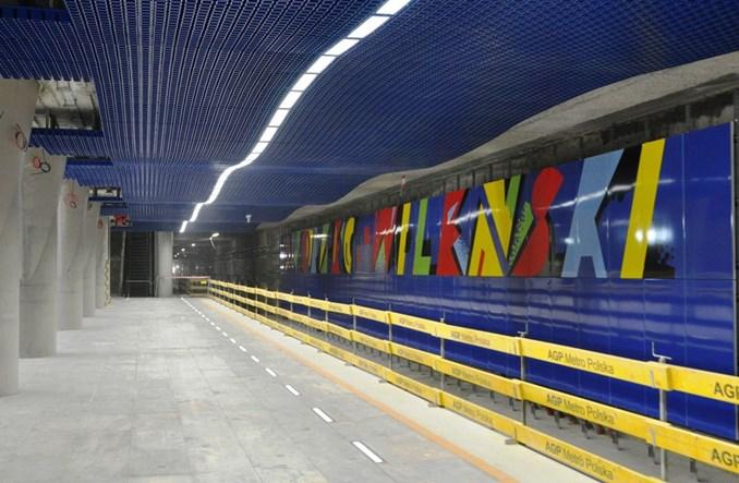 Metro: Granatowy Wileński - najpłytszy i najdłuższy