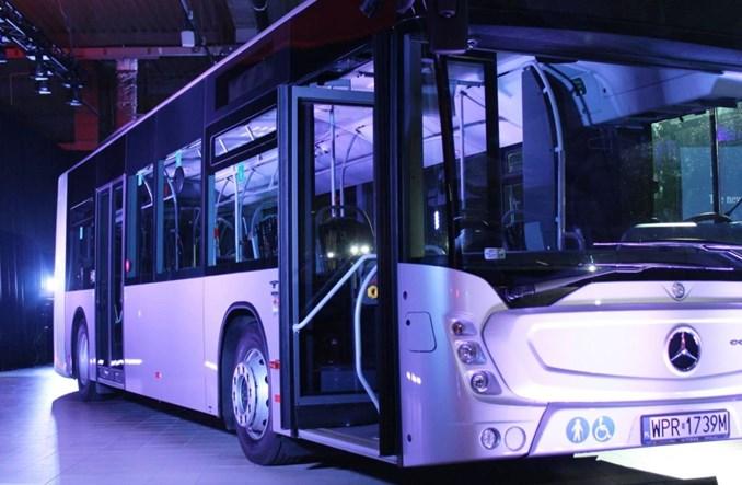 Światowa premiera nowego modelu Mercedes-Benz Conecto w Polsce
