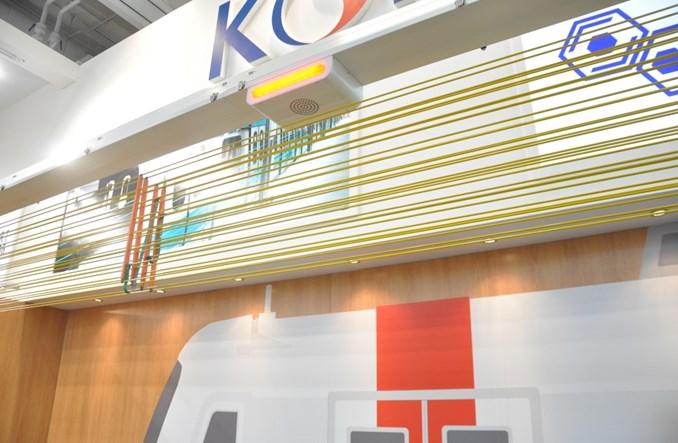 InnoTrans 2016. Ażurowe bariery w koreańskim metrze