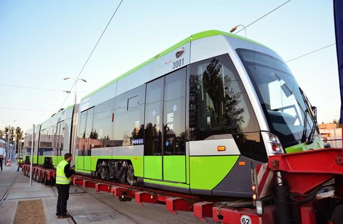 Już jest! Pierwsze Tramino w Olsztynie