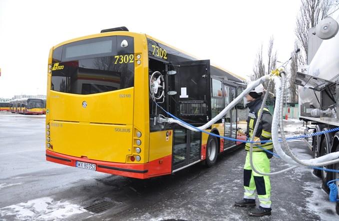 MZA Warszawa rozstrzygnęły przetarg na 90 autobusów LNG