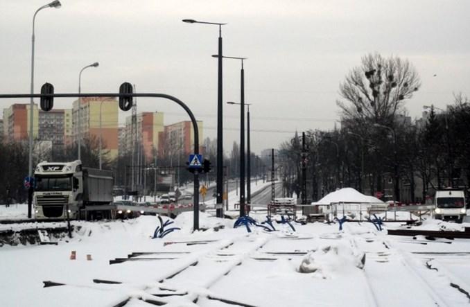 Łódź: Tory na Dąbrowskiego będą wydzielone