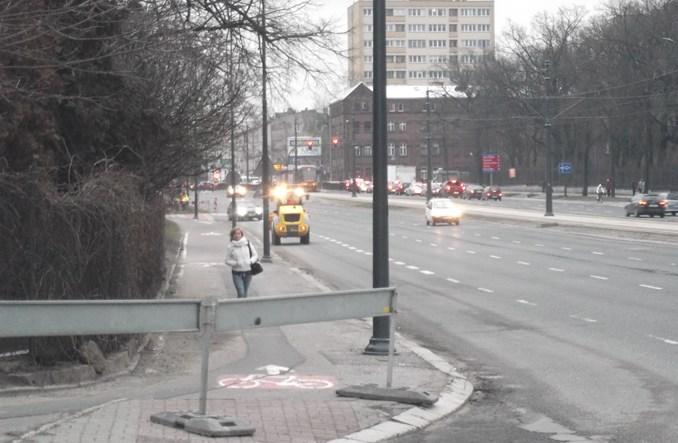 Łódź: Trasa W-Z zmienia się także dla rowerzystów