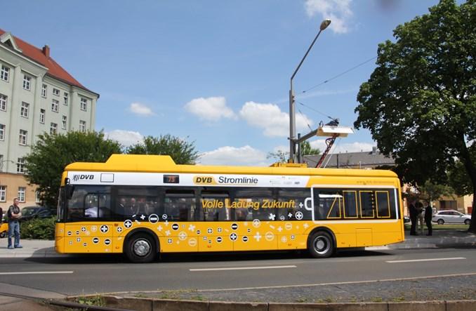 Elektryczny Solaris Urbino 12 wyjechał na linię w Dreźnie