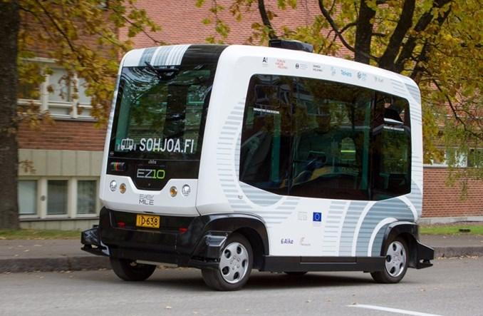 Zaawansowane Gdańsk przetestuje autonomiczny mikrobus - Transport Publiczny TH85