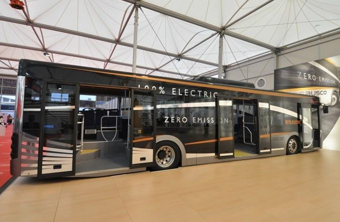 Zalew autobusów elektrycznych w Kortrijk
