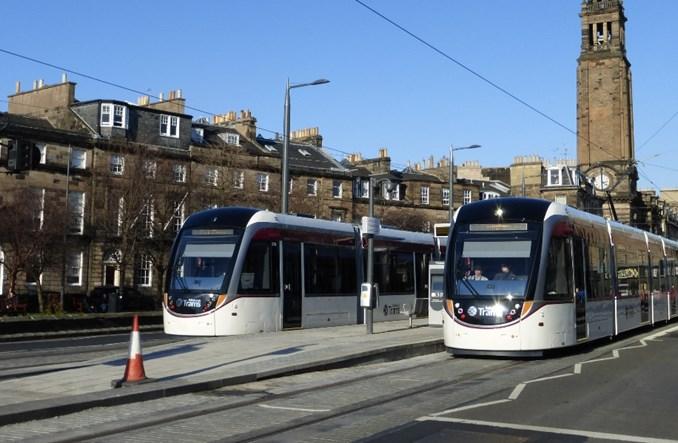 Tramwaj w Edynburgu już jest