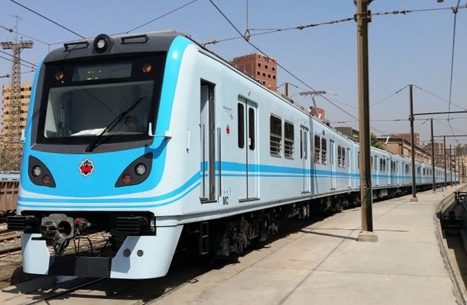 Pierwszy nowy pociąg w kairskim metrze. Będą kolejne
