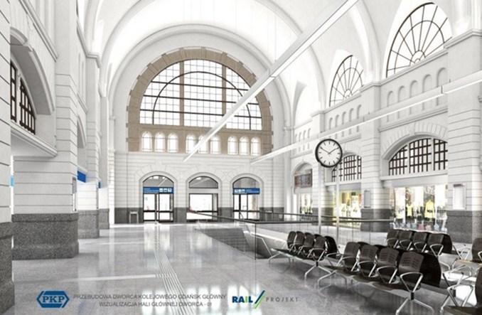 Dalsza przebudowa Gdańska Głównego w przyszłym roku