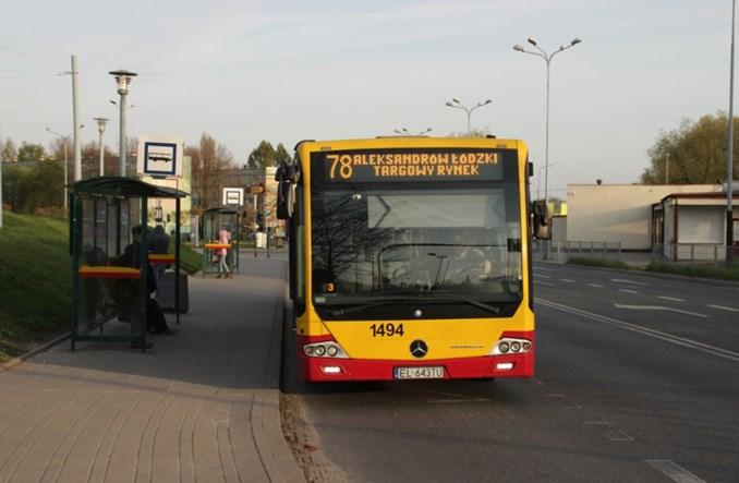 Łódź: Mniej kursów do Aleksandrowa
