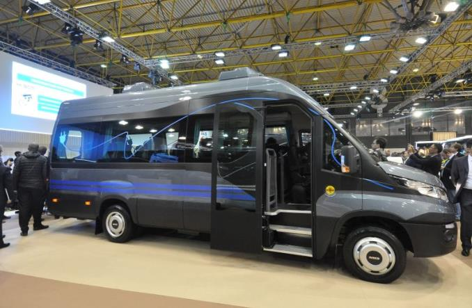 Iveco w Kortrijk z elektrycznym busem