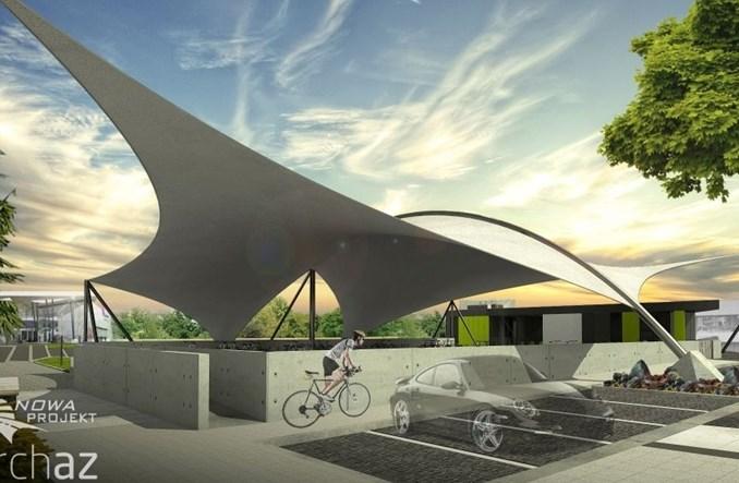 Jaworzno ze środkami na bezkolizyjną velostradę i parkingiem rowerowym