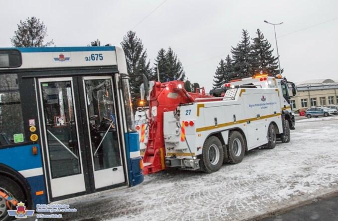 Kraków z nową myjnią tramwajową i wozami technicznymi
