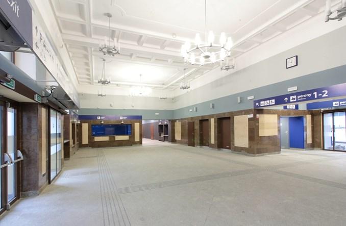 Zakończyła się przebudowa dworca w Kaliszu