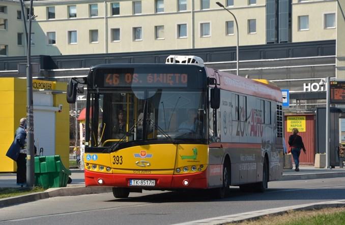 Kielce. W autobusach jest za gorąco, bo… pasażerowie wsiadają i wysiadają