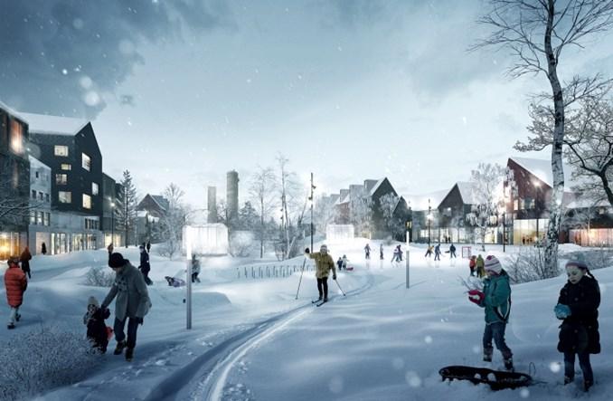 Szwecja. Za kołem podbiegunowym przesuwają… miasto. W całości