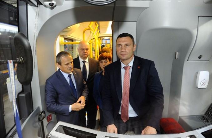 Pesa dostarczy 50 tramwajów do Kijowa?