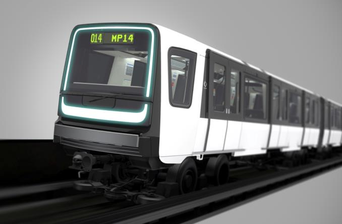 Alstom z projektem pociągu metra dla Ile de France