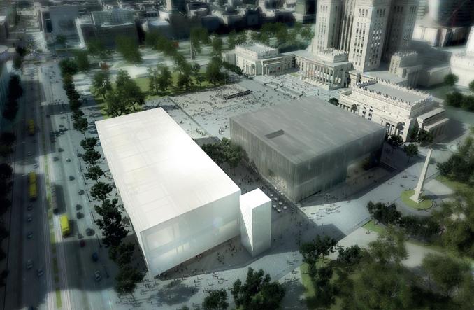 Budowa nowego placu Defilad ruszy w 2017 r. Są trzy warianty
