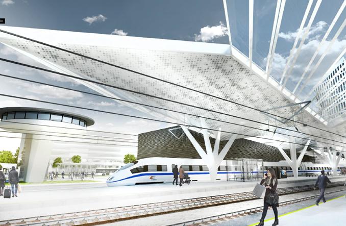 Pomysł kolei na Warszawę Zachodnią. Nowa wizytówka stolicy?