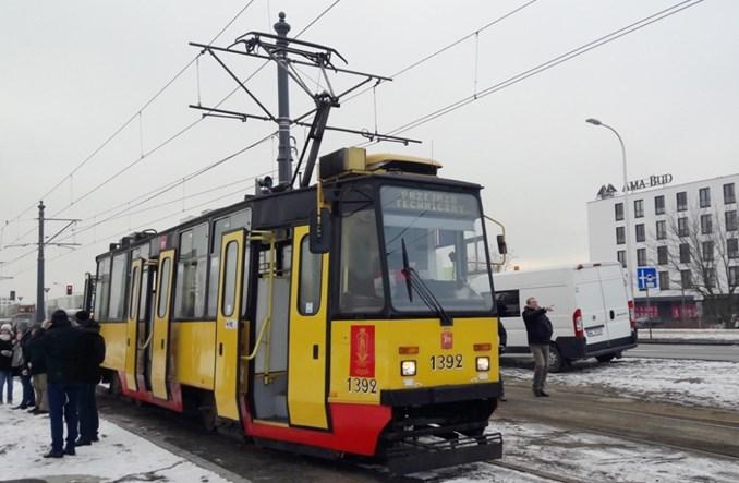Warszawa: Pierwsze testowe tramwaje pojechały na Nowodwory