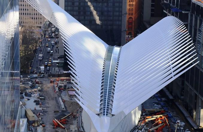 Nowy Jork: Stacja jak katedra. Węzeł na miejscu WTC