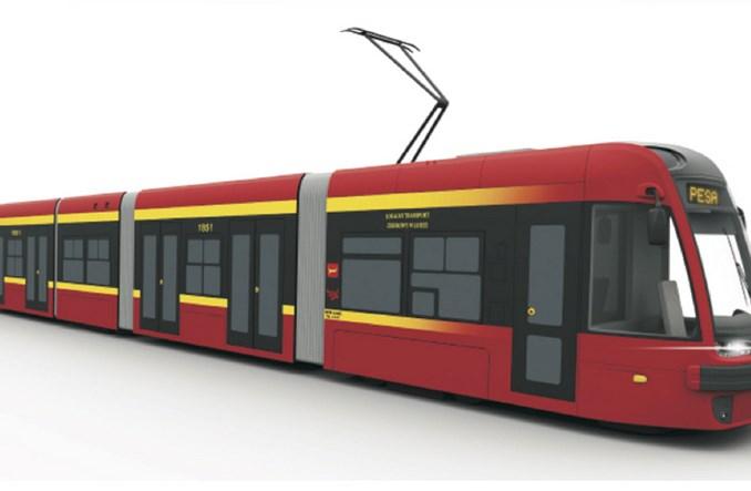 Łódź: Umowa z Pesą na 22 tramwaje