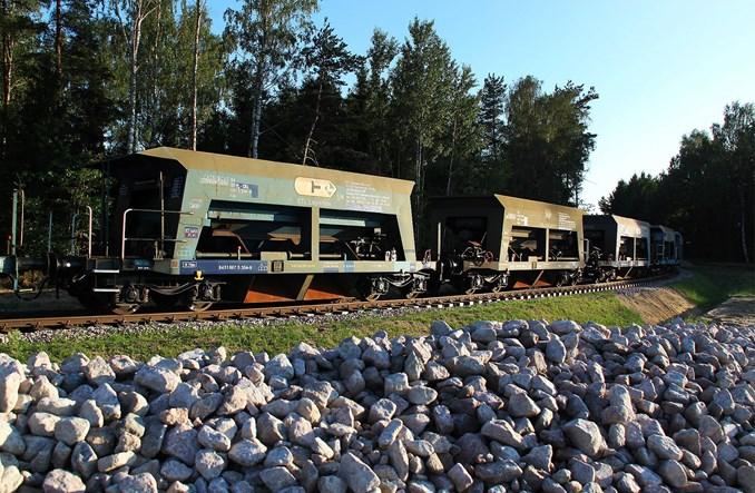 Pierwszy pociąg na torach PKM