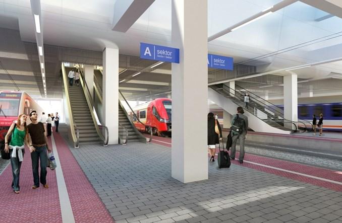 Udało się: Poznań Główny będzie miał schody ruchome na dół