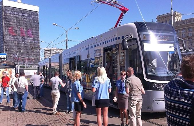Fokstrot wozi już mieszkańców Moskwy