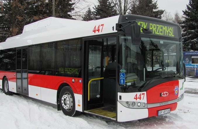 Nowy autobus na gaz w Przemyślu