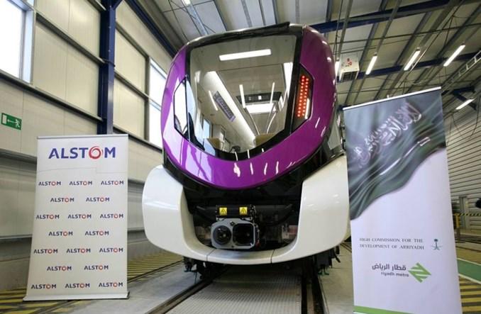 Pierwszy pociąg metra Alstomu z Chorzowa dostarczony do Rijadu