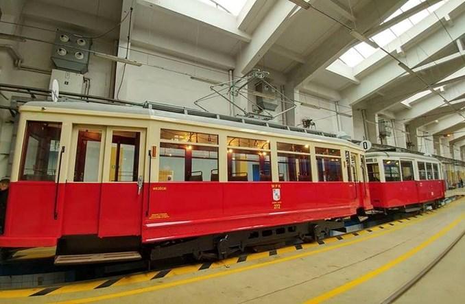 MPK Kraków wyremontowało historyczny wagon Ring