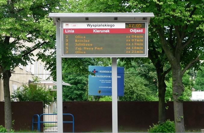 Gdańsk rozwija informację pasażerską dzięki Tristarowi