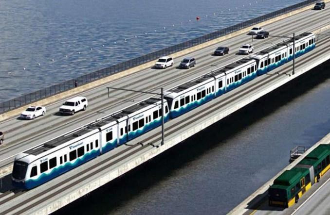 W Seattle powstanie pierwsza lekka kolej na moście pontonowym