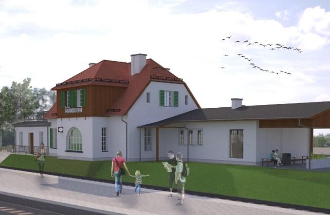 Dworce Święta Katarzyna, Siechnice i Smardzów idą do remontu (wizualizacje)