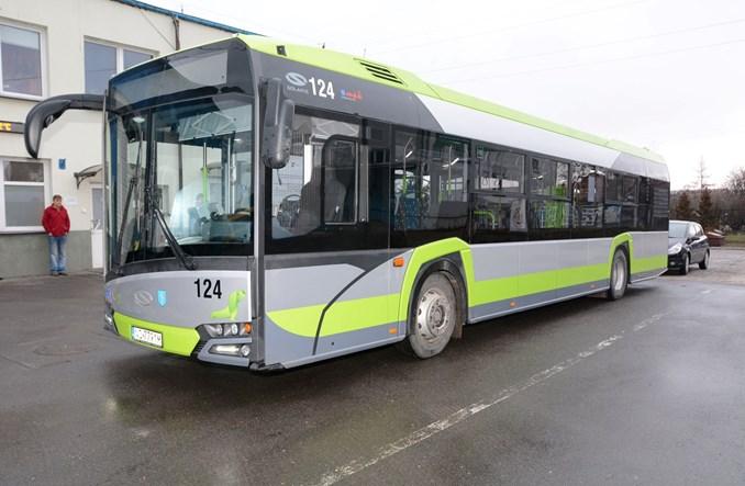 Najnowszy olsztyński Solaris na testach w Skierniewicach
