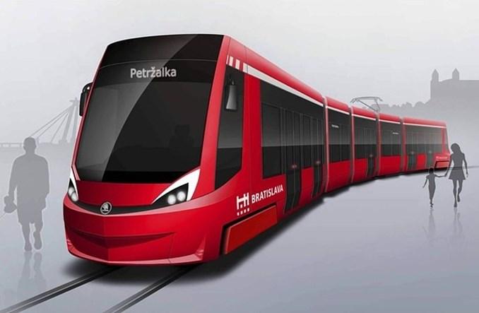 Słowacja: Więcej tramwajów przyjedzie do Bratysławy