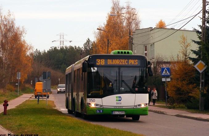 Białystok stawia na buspasy. Jest dofinansowanie