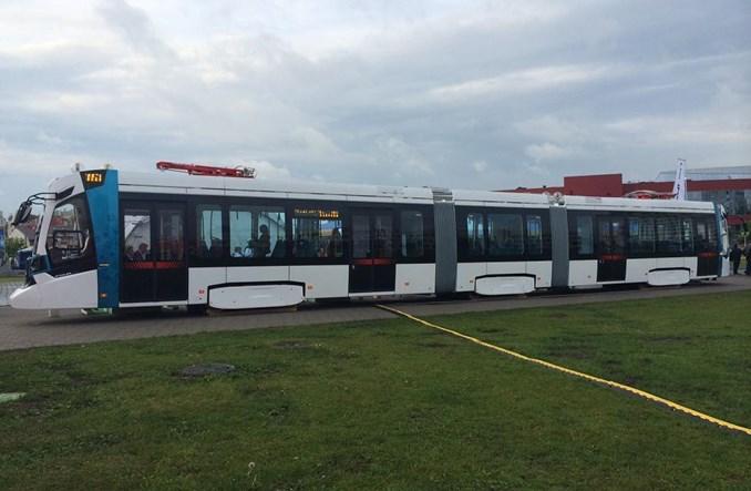 Stadler prezentuje nowy tramwaj szerokotorowy